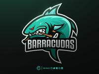 Barracudas Mascot Logo