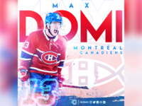 Max Domi artwork