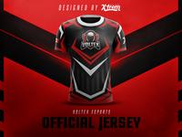 Voltex Esports Jersey Design