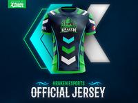 Kraken Esports Official Jersey