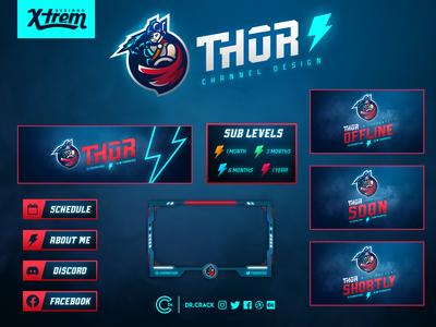 Thor Twitch Channel Design
