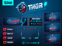 Thor Twitch Channel Design