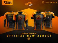 Feenix Esports Jersey Official Redesign