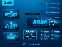 Aqua Twitch Package