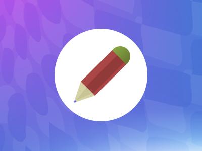 Pencil icon icon web design create pencil magento good friend