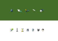 Football Identity Icons
