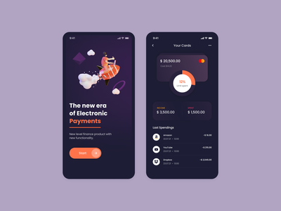 Finance Mobile App dailyui mobile app design mobile ui app daily ux uiux ui mobile app mobile money management money transfer money app money wallet app walletapp wallet ui wallet product design product