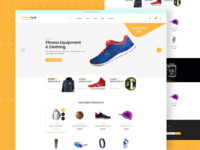 Fitness Club GYM - E-commerce Template