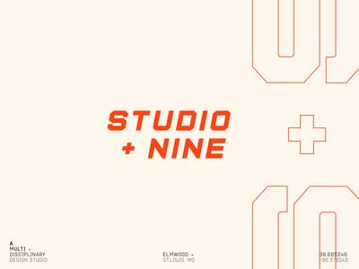 Studio + Nine Identity