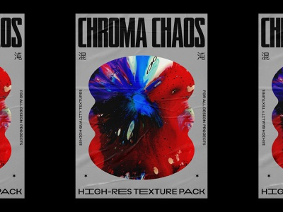 Chroma Chaos 02 grids poster design poster