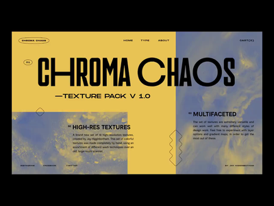 Chroma Chaos 03 website texture ui branding texas houston