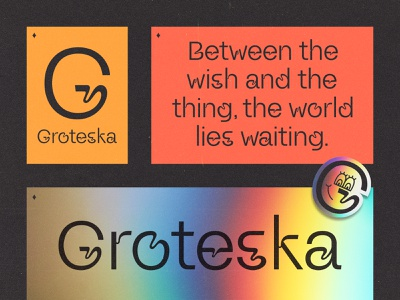 Groteska 01 sticker houston grotesk typography font