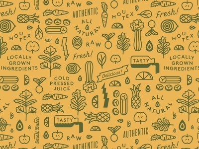 Green Lane Pattern pattern cleanse fruit veggies tasty houston texas
