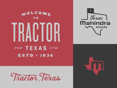 Mahindra Badges /03 stuff tuff tractors toughest dealers texas mahindra