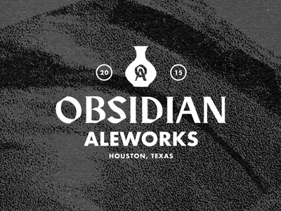 Obsidian Aleworks texture brewery texas houston beer aleworks obsidian