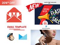 Mailio | Responsive Multipurpose Email Template