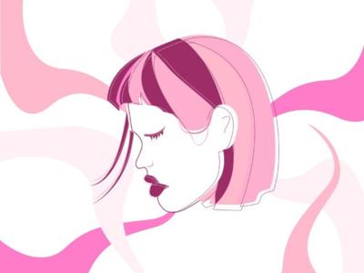PinkGirl Illustration