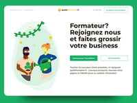Quelle formation - homepage business
