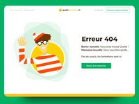 Quelle formation - Error 404