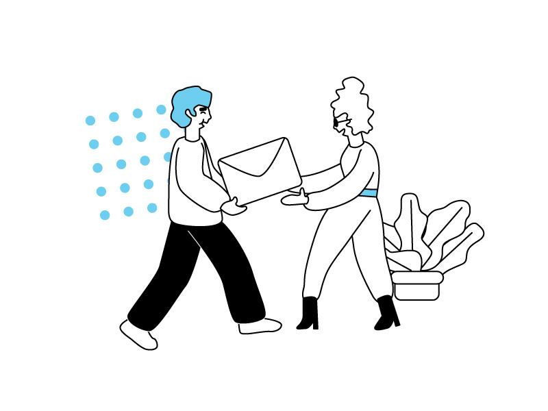 Team work minimalist design sliders cards art cartoon identity ui branding vector flat illustration