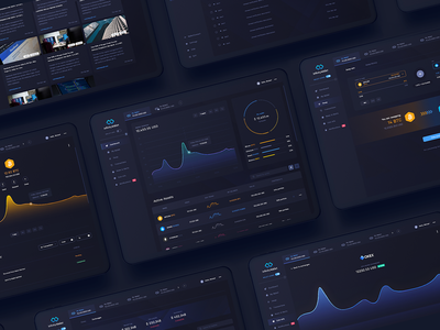 Infinity Wallet App desktop design android branding designer ux appdesign ui web app design