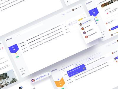 Team Inbox 📨 email managment teamwork manage inbox team digital website webdesign web appdesign designer design ui