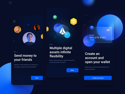 Infinity Wallet onboarding cryptocurrency card finance fintech wealth asset coin digital ux app crypto wallet wallet crypto web ui