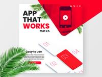 App promo website