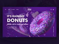 [Landing Page] Donut House Hero