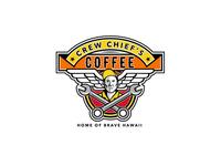 Crew Chief's Coffee Logo Proposal