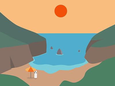 Sombra e água fresca illustration vector