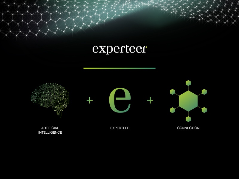 Experteer Beyond Jobs ux  ui logo design