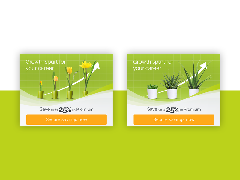 Spring Promo email banner ad promo advertising