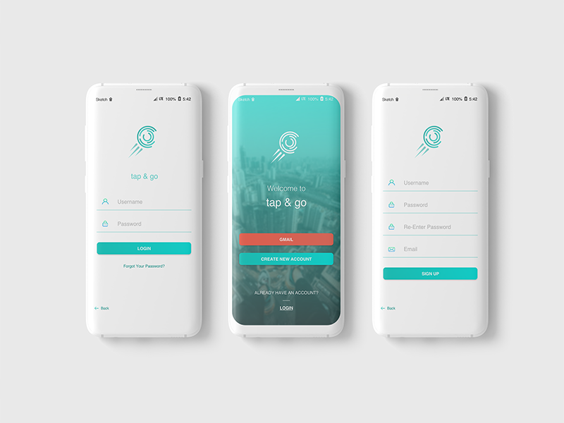 Login Screen by Septiana Faza on Dribbble