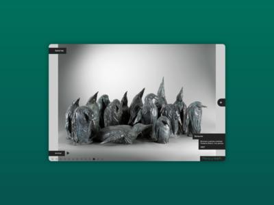 Patrick Roger sculptures