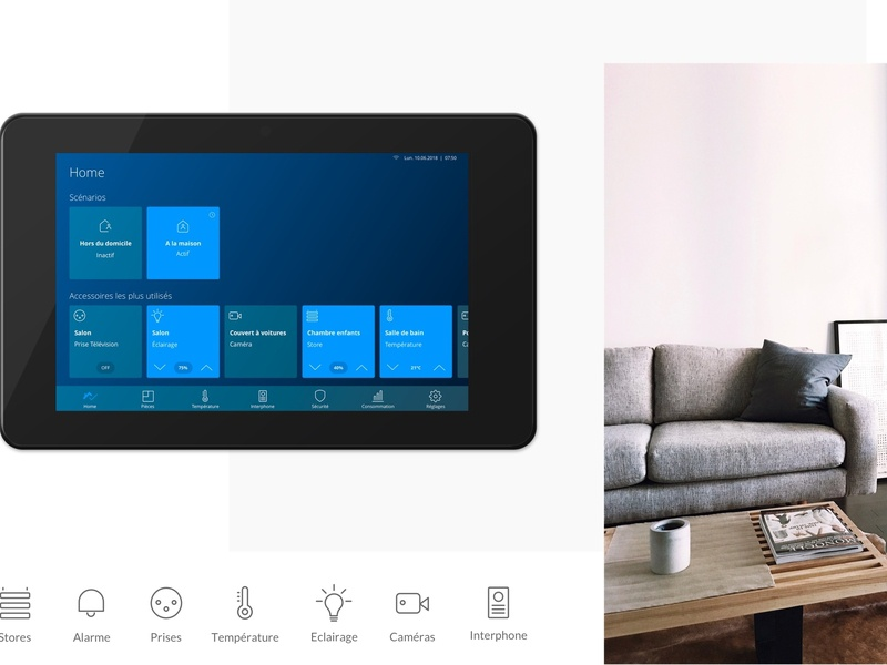 Smarthome® ECOsystem domotic ios system automation lights home interface ui smarthome android iot