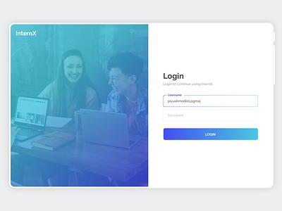 Login Page Design - Daily UI 001 web design design dailyuichallenge dailyui uidesign webpage design ui ux login page design login page