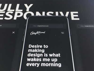Desire to making design is what wakes me up every morning