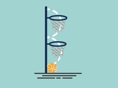 b for basketball