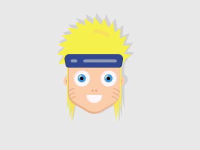 Naruto flat design