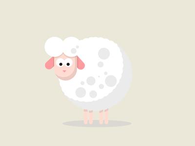 Sheep flatdesign