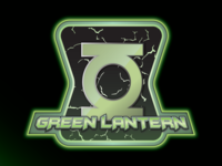 Green Lantern Badge Shot