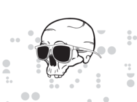 Colour Blind Skull Shot