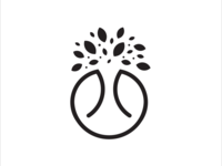 Tree and Lung Logo Concept