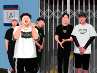 A rap group from China