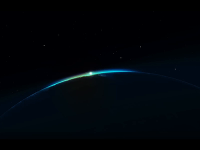 Download Earth Horizon Space Animation AE Project