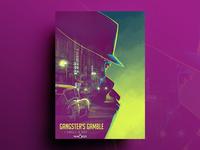 Gangster's Gamble Poster Design