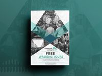 Free Walking Tours Poster Design