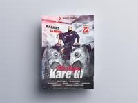 Nachiya Kare Gi Poster Design