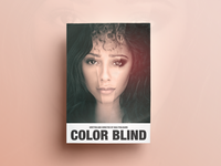 Color Blind Poster Design